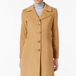 Anne Klein Petite Walker Coat 12P